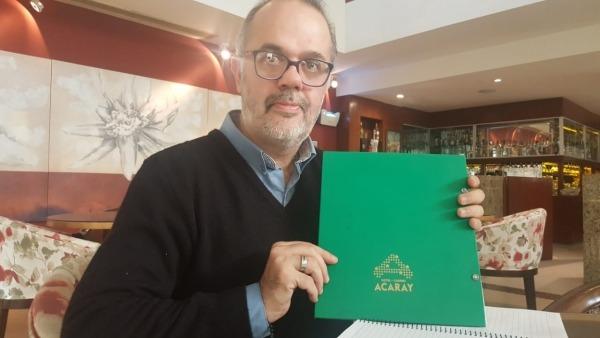 Hotel Casino Acaray aplica sistema braile en cartas gastronómicas