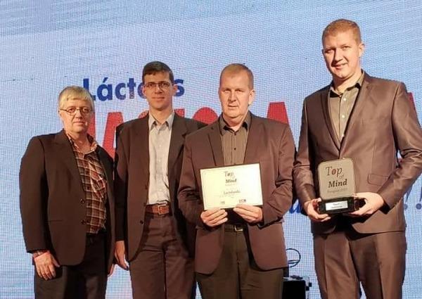 Lactolanda gana el Top Of Mind  por quinto año consecutivo