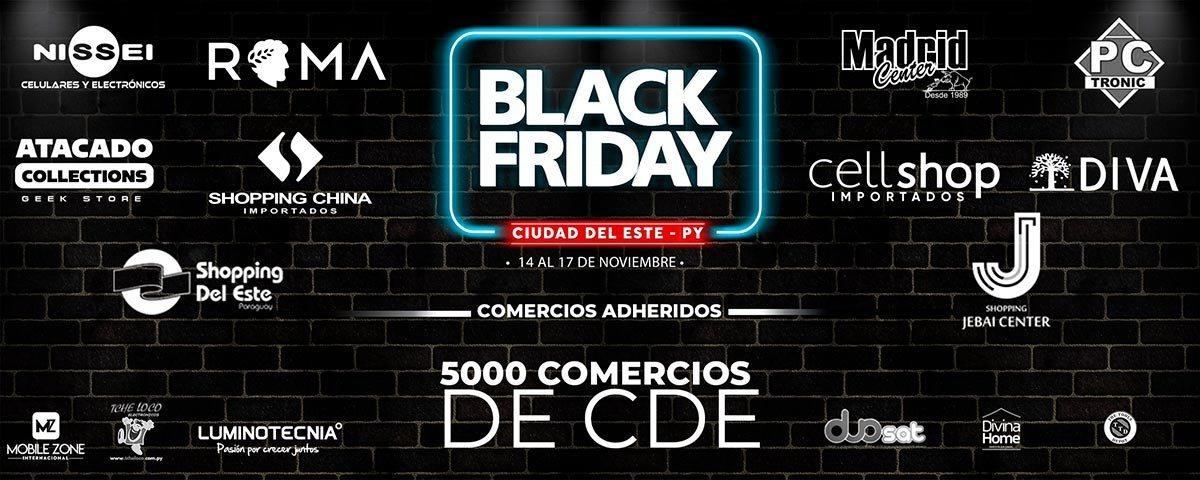 Unas 4700 tiendas se suman al Black Friday