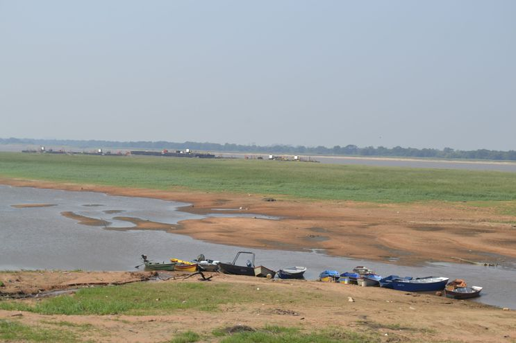 Bajante del río impacta con sobrecostos en la importación