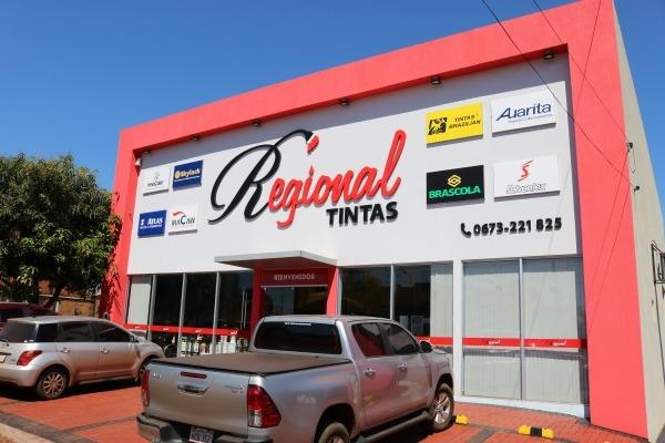 Regional Tintas atiende a clientes de todas  partes en su nueva sucursal de Santa Rita