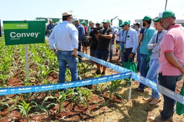 BASF presentó su portafolio completo  de soluciones para soja y maíz
