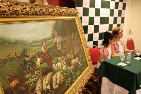 Expondrán sorprendentes cuadros  en el Hotel Casino Acaray