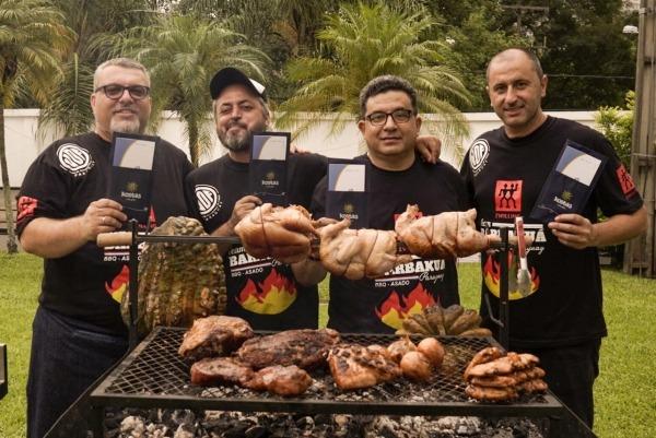 Paraguay se alzó con un histórico primer puesto en competencia internacional de parrilleros