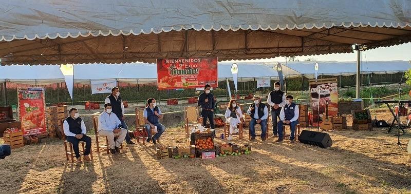 La 2ª edición de Expo Tomate se hizo virtual y presencial